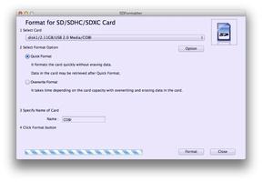 SD Formatter screenshot 2