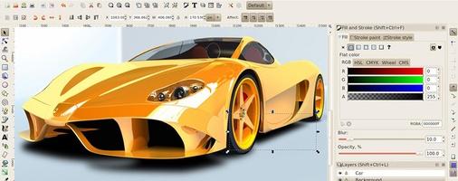 Inkscape screenshot 3