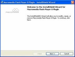 Macromedia Flash Player para Mozilla screenshot 3