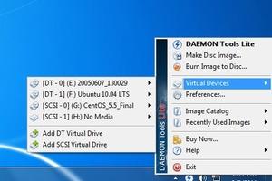 DAEMON Tools screenshot 4