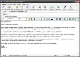 DreamMail screenshot 4