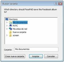 FacePAD: Facebook Photo Album Downloader screenshot 4