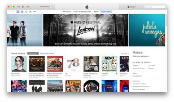 iTunes screenshot 2