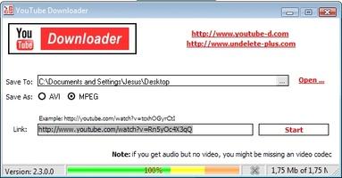 YouTUBE downloader screenshot 2