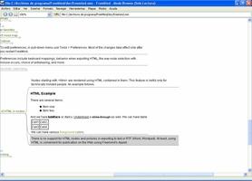 FreeMind screenshot 5