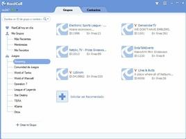 RaidCall screenshot 3