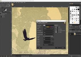 GIMP screenshot 9