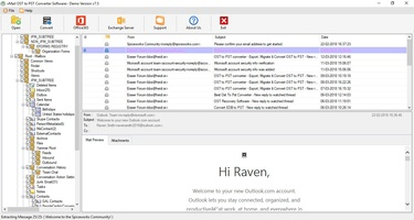 vMail OST to PST Converter screenshot 3