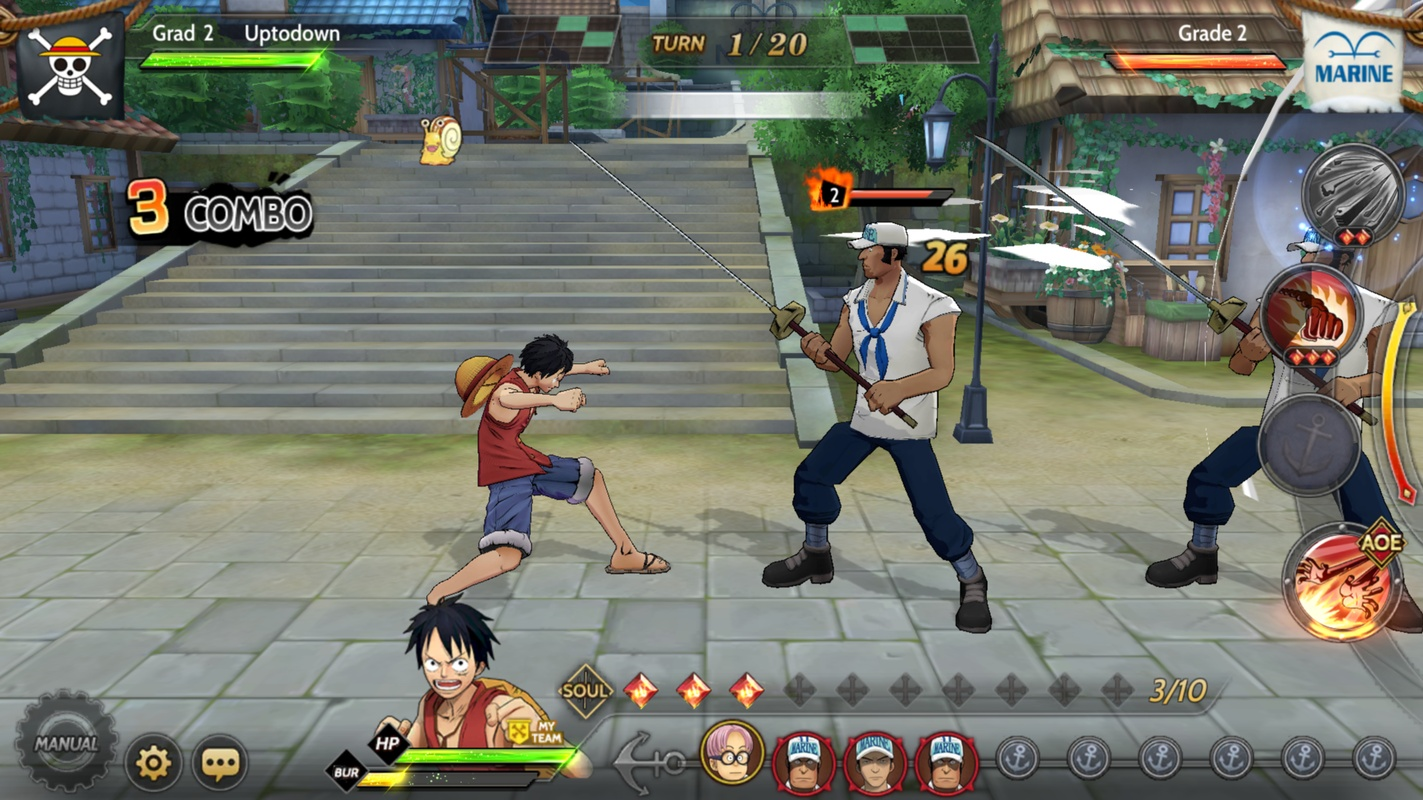 One Piece Burning Will 1.15.0.302226 para Android - Download