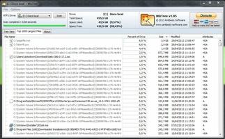 WizTree screenshot 3