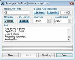 Autotune screenshot 4