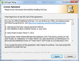AxCrypt screenshot 3