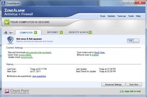 ZoneAlarm screenshot 5