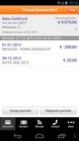 Rabo Bankieren screenshot 5
