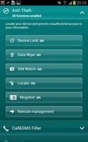 Kaspersky Mobile Security screenshot 3