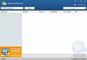 Wise Data Recovery screenshot 2