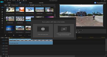 Cyberlink PowerDirector screenshot 2