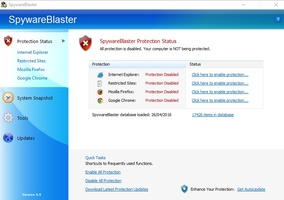 SpywareBlaster screenshot 4