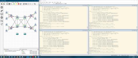 GNS3 screenshot 4