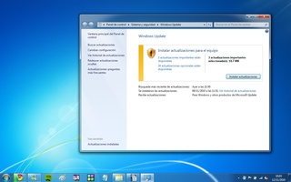 Windows 7 Home Premium screenshot 4