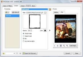 XnConvert screenshot 3