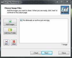 Exif Tag Remover screenshot 6