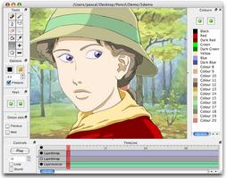 Pencil2D screenshot 4