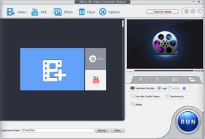 WinX HD Video Converter Deluxe screenshot 2