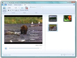 Windows Live Movie Maker screenshot 5