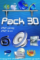 Pack 3D Icons screenshot 3