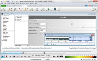 WavePad Free Audio, Music and Mp3 Editor screenshot 3
