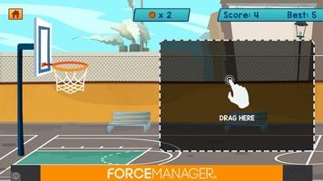 Basketball Bubble Toss Burst Free Mega Super Games screenshot 2