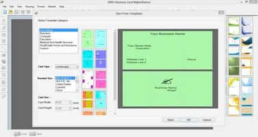 Business Card Software screenshot 4