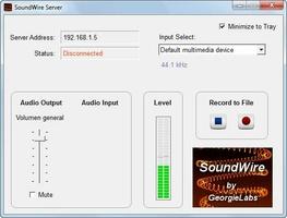 SoundWire Server screenshot 3