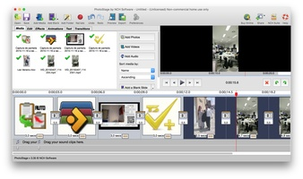 PhotoStage Free Slideshow Maker for Mac screenshot 2