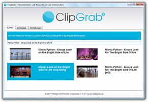 ClipGrab screenshot 2