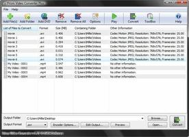 Prism Video File Converter screenshot 2