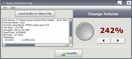 Audio Amplifier screenshot 3