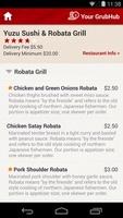 GrubHub Food Delivery screenshot 4