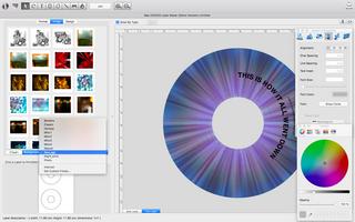 Mac CD/DVD Label Maker screenshot 9