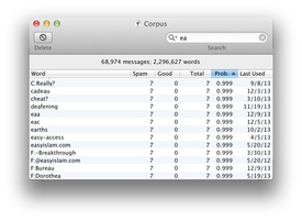 SpamSieve screenshot 4