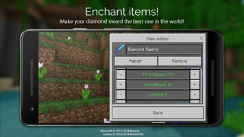 Toolbox for Minecraft: PE screenshot 5