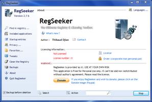 RegSeeker screenshot 2
