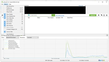 uTorrent screenshot 2