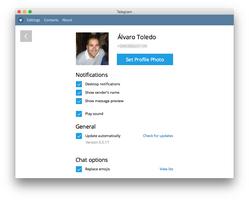 Telegram for Desktop screenshot 9