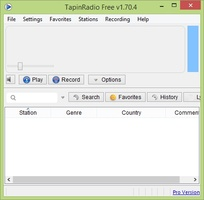 TapinRadio screenshot 2