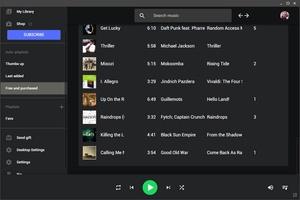 Google Play Music Desktop screenshot 6