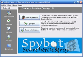 SpyBot Search And Destroy screenshot 2