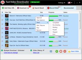 Fast Video Downloader screenshot 5