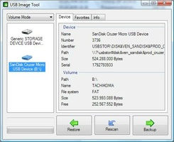 USB Image Tool screenshot 2